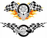 Sports Race Emblems - second set
