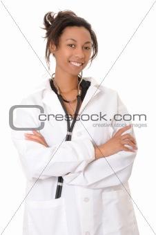 African American Doctor or Nurse
