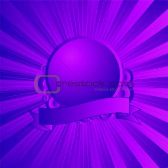 modern shield purple