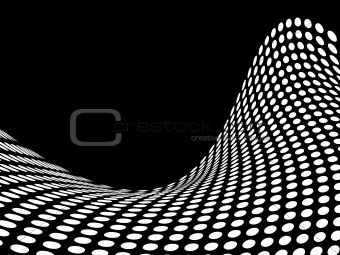 Abstract halftone background