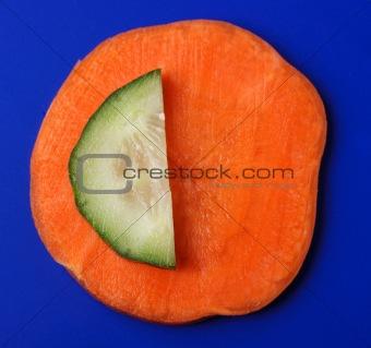 Carrots cucumber
