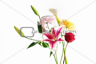 Assorted floral bouquet