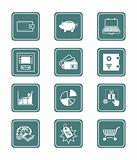 Money matters icons | TEAL series