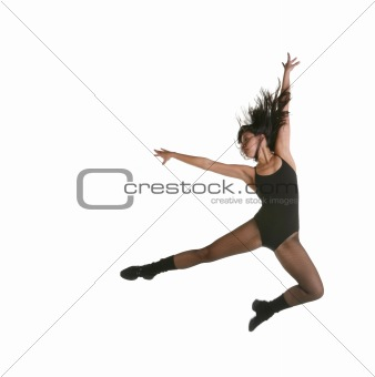 Modern Jazz Street Dancer Jumping
