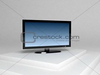three dimensional plasma television