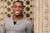 Smiling African American Young Man
