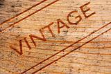 Vintage Wine Box