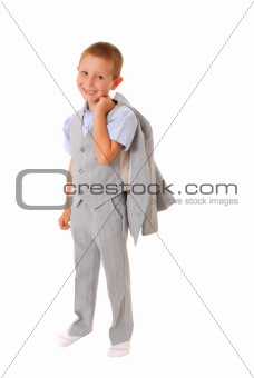 Boy Businessman