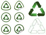 Recycle Tags Collection