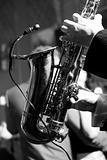 Old saxophone