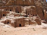 Ruins of Necropolis in Petra