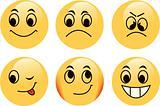 Vector emoticons