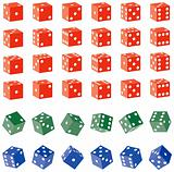 Colored Dice