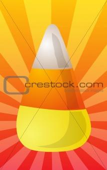 Candy corn illustration