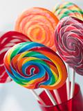 Spiral Fruit Lollipops