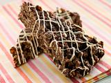 Chocolate and Fruit Rice Crisp Cake
