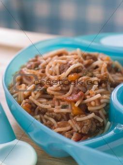 Baby's Spaghetti Bolognaise