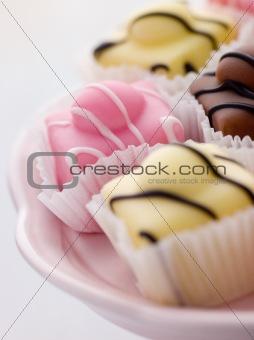 Fondant Fancy Cakes