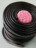 Rolled up Liquorice Wheels