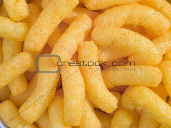Cheese Potato Puff Snacks