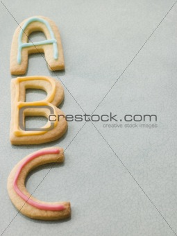 ABC Shortbread Biscuits