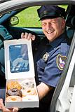 Police Officer - Box of Donuts
