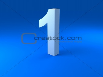 three dimensional digit