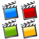 Coloured film slates