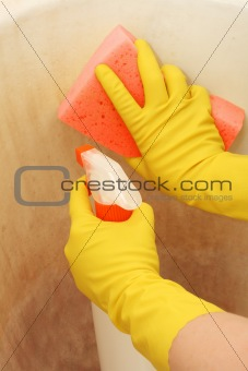 Cleaning dirty surface