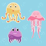 Sea creatures