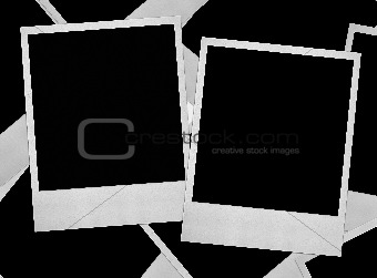 group of photo frames