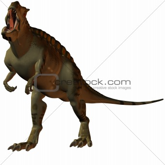Acrocanthosaurus-3D Dinosaur