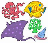 Cute marine animals collection 4
