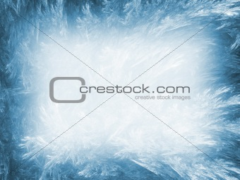 Abstract background. Ice blue palette.