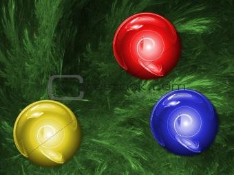 ChristmassTree. Multicolor palette.