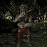 Goblin-Fantasy Figure
