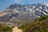 Hiking Mount Saint Helens National Park Washington