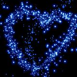 stars in the shape of a heart