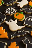 Halloween cookies