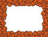 halloween pumpkins frame