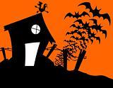 halloween charmed house