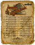 Old Sheet Music.