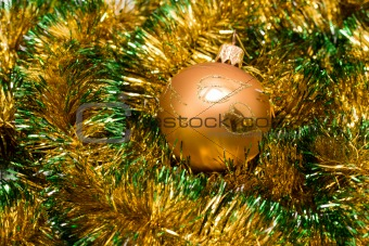 Christmas bauble and decoration