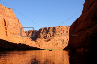 Fisherman on the Colorado River