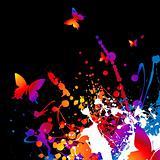 technicolor butterfly