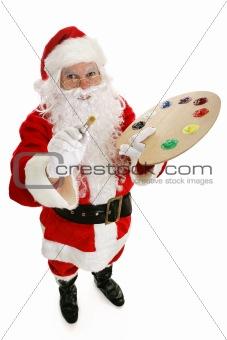 Artist Santa Claus