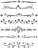 Ornamental page rulers