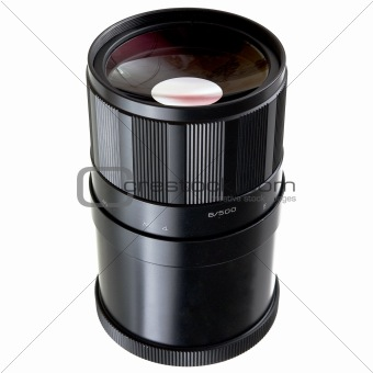 Old Mirror lens objective 500mm
