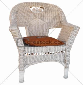 Cane Chair with Cushion