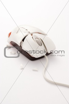 A Broken Computer Mouse
